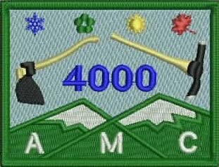 Map Of New England 4000 Footers.Welcome To The Official 4k Club Website Amc Four Thousand Footer Club